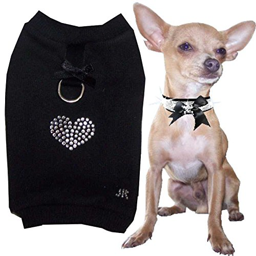 Chihuahua XXS Designer Hunde Softgeschirr Hundemantel