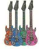 ulooie Creative aufblasbare Gitarre Musikinstrumente für Kinder (zufällige Farbe)