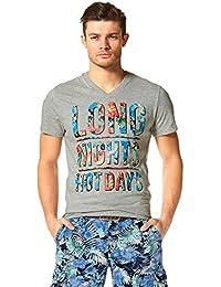 654a25249d5 John Devin John Devin T-shirt avec col en V
