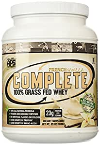 All Pro Science, Complete 100% Grass Fed Protein, French Vanilla, 640-Grams