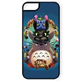 Coque pour iPhone 5 et 5S Stitch, Krokmou et Totoro ornement kawaii - Chamalow Shop