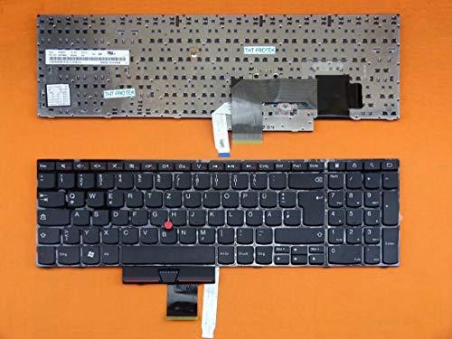 kompatibel für IBM Lenovo ThinkPad Edge E520 DEUTSCHE - Tastatur Keyboard mit Mausstick -