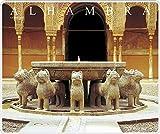 Tappetino, Mouse Pad Patio dei Leoni, Alhambra, Granada MM 245X 205