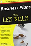 Business plans Poche Pour les Nuls (Les) de Paul TIFFANY (1 septembre 2005) Poche