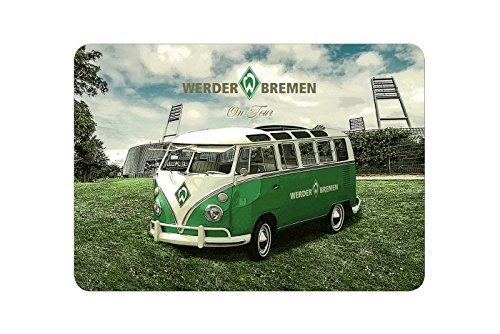 SV Werder Bremen Frühstücksbrettchen on Tour -
