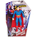 NJ Croce- Dc Comics Superman Personaggio Snodabile, Classic, DC3951