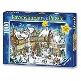 Ravensburger - Weihnachtsdorf, 1000 Teile Puzzle