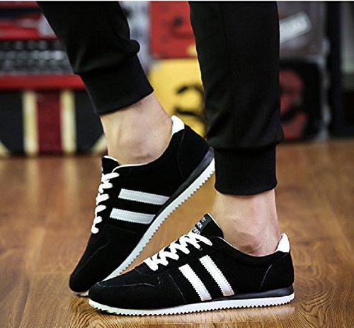Sport Fashion Shoes Scarpe Sportive Sneakers da Uomo Colori a Scelta - LY-132/LY-131 Nero