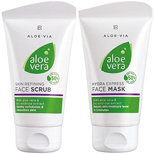 ms1024ac-nb24 Livraison LR Aloe Vera Main savon crème Kit d'entretien (20618-1) + Crème + Nail Polish + Glan zpolierer