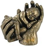 'Sweet Dreams' Cold Cast Bronze Baby Figur Skulptur Babies Marke Neu & Verpackt