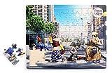 Small Foot Design 2739 Shaun das Schaf Puzzle Abbey Road, bunt (1 Stück)