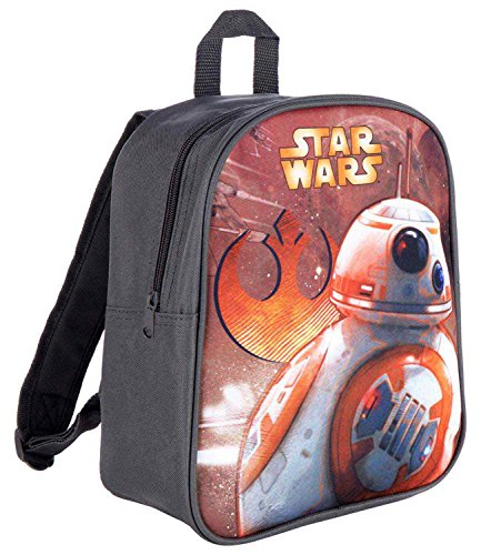 Star Wars-The Clone Wars Darth Vader Jedi Yoda Chicos Mochila - Gris -