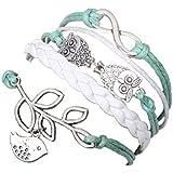 PromiseU Fashion Vintage amor ancla para pulsera de INFINITY
