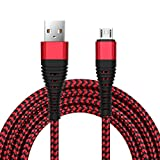 UGI 9.2ft Micro-USB-Kabel Nylon geflochten Datenkabel Data Sync Fast Lade Android Kabel für Samsung Galaxy S5 S6 S7 Nexus LG Sony Xperia Z5 Huawei HTC und mehr Android Geräte