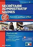 Image de Secrétaire administratif SAENES catégorie B. Fonction publique d'état Concours 2012