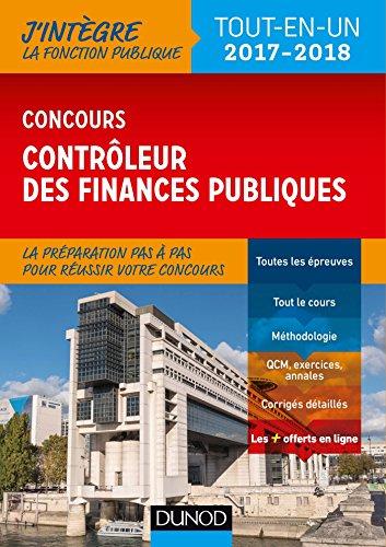 Concours Contrleur des finances publiques - Tout-en-un - 2017-2018