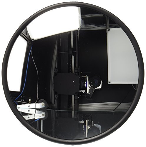 Grote 16033 Stainless Steel 8 1/2 Convex Mirror with Center-Mount Ball-Stud by Grote -