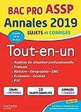 Annales Bac 2019 Tout-en-un Bac Pro ASSP...