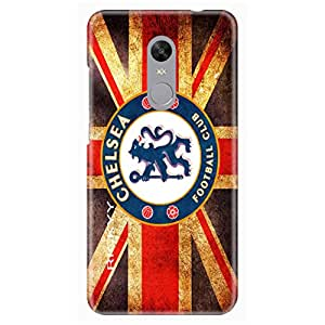 RICKYY Football Club design printed matte finish back case cover for Xiaomi Redmi Note 4X