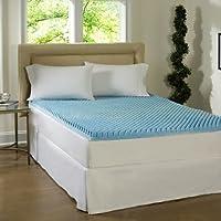 Beautyrest 7,62 cm Gel memoria colchón de espuma Topper y funda impermeable (King
