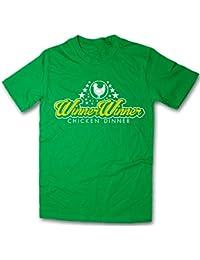 Balcony Shirts 'Winner Winner Chicken Dinner' Mens Funny Printed T-Shirt