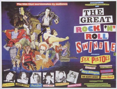The Great Rock 'N' Roll Swindle Plakat Movie Poster (11 x 17 Inches - 28cm x 44cm) (1980) B