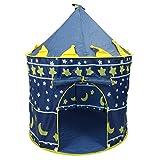 SNOWINSPRING Tente Ultralarge de plage pour les enfants, maison a jouer des jeux pour les bebes,chateau pour les enfants Princesse et princess, tente a jouer a l'exterieur et interieur, Cadeaux de Noe