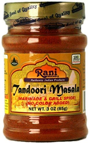 Rani Brand Authentic Indian Products Tandoori Masala Peso netto. 3 once (85g)