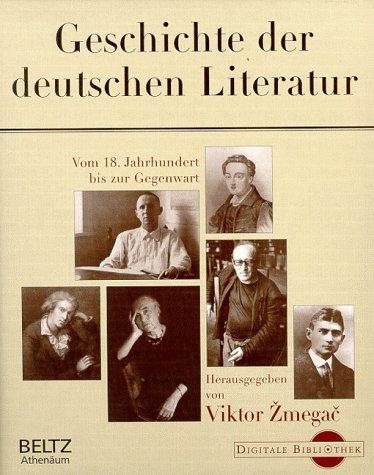 Geschichte der deutschen Literatur. (Digitale Bibliothek, Bd 24)