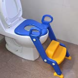 Die besten Schritt 2 2 Jahre alten Jungen Spielzeug - Kinder-WC-Leiter Mit Justierbarer Kindertoilette Leiter-Höhe Jungen-Mädchen-Folgesitz-Toiletten-Training Bewertungen