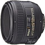Nikon AF-S 50mm F1.4 G - Objetivo para Nikon (distancia focal fija 50mm, apertura f/1.4) color negro