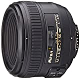 Nikon AF-S 50mm F1.4 G - Objetivo para Nikon (distancia focal fija 50mm, apertura f/1.4) color...