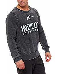 Indicode - Pull - Uni - Manches Longues - Homme