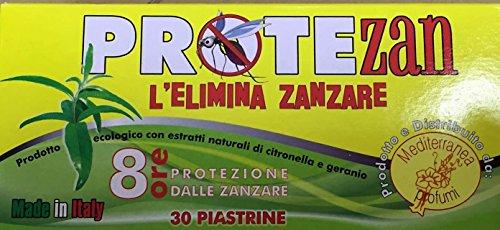 720 Plaquettes (24 boîtes de 30pz) anti-moustiques électro emanatori Anti Moustiques