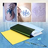 10 fogli Tattoo stencil transfer Paper Thermal Tracing copia Body art supply
