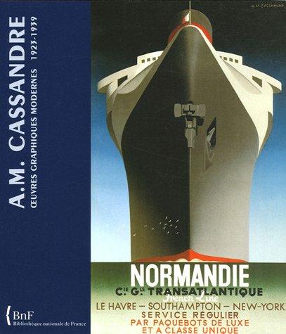 A.M Cassandre-Oeuvres graphiques modernes