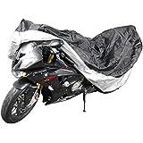 Jago - Bâche pour moto élastique - double couture - 265/127/104 cm (L/l/H) - résistant à l'eau