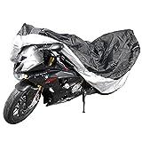 Jago Motorradplane Abdeckplane für Motorräder inkl. Aufbewahrungsbeutel