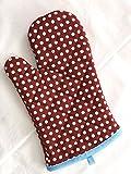 Rho Kihini DESIGNER Topfhandschuhe, Hitzebeständig, Küchenhandschuhe, Ofenhandschuhe, Backhandschuhe mit Style