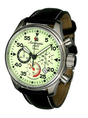 Aeromatic 1912 A1342 - Reloj para hombres color negro