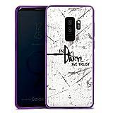 DeinDesign Samsung Galaxy S9 Plus Slim Case lila Silikon Hülle Schutzhülle The Walking Dead Filme und Serien Daryl Dixon