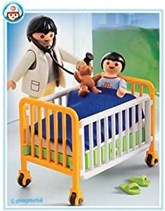 playmobil 4406 h pital lit h pital enfant m decin jeux et jouets. Black Bedroom Furniture Sets. Home Design Ideas