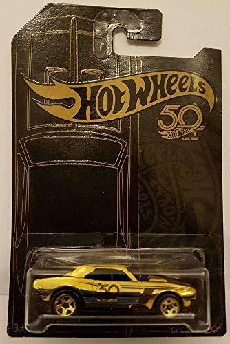 "HW Hotwheels 50th Anniversary Negro y Oro FVJ36 – 1967 Chevy Camaro ""Gold Chase Car"""