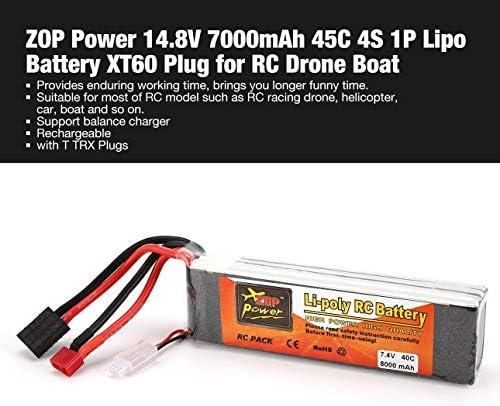 Ballylelly Batterie RC RC RC ZOP Puissance 7.4V / 11.1V / 14.8V / 22.2V 8000mAh 40C 2S 1P Lipo Batterie T TRX Plug pour Voiture RC Drone de | Commandes Sont Les Bienvenues  acfb9d