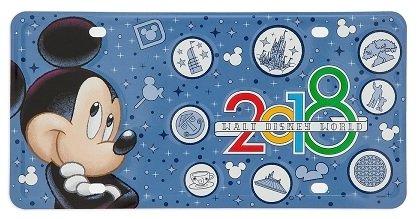DisneyParks Nummernschild-2018Mickey Mouse-Walt Disney World -