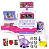 Kinder spielen Spielzeug Shopping elektronische Kasse Realistische Aktionen & Sound