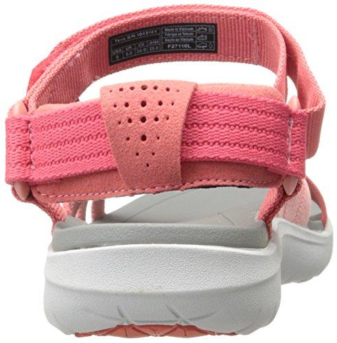 Teva Sanborn Sandal W's, Scarpe da Atletica Leggera Donna Rosa (Rose Coral)