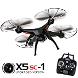 Syma X5SC Explorers 2 - 2.4G 4 Channel 6-Axis Gyro RC Headless Quadcopter With...