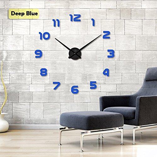 Moderno Marco múltiple grandes 3d DIY Reloj de pared Kit de decoración Home para salón dormitorio...