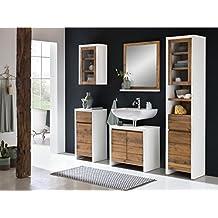 Badschränke Holz suchergebnis auf amazon de für badmöbel rustikal